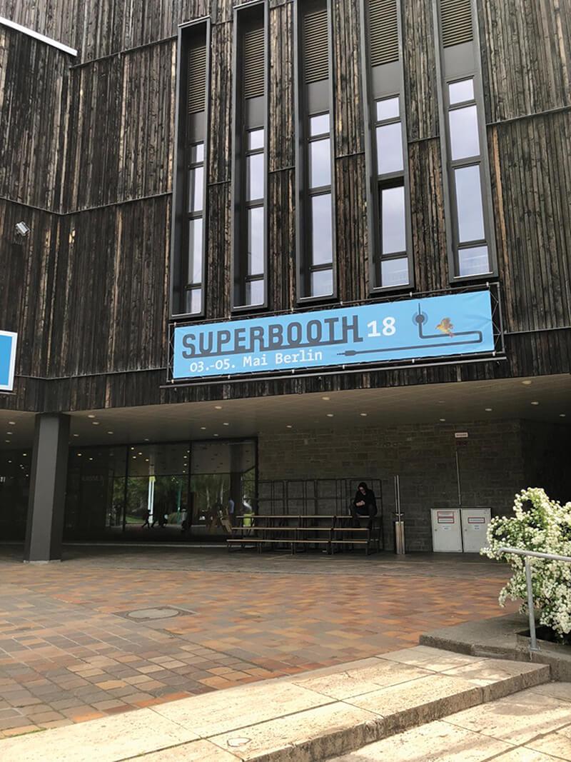 Andreas Schneider - Superbooth entrance
