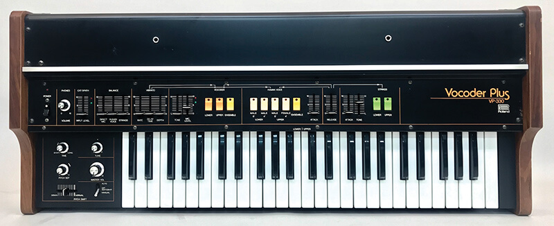 The history of the Vocoder - Roland VP-330