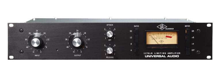 Hardware vs Software: Universal Audio's UREI 1176 Compressor