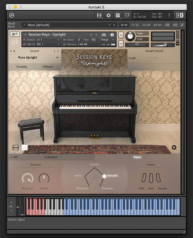 6 of the Best: Hi-Tech Pianos - e-instruments Session Keys Upright