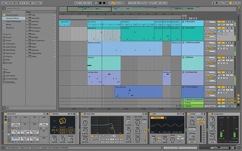 Recording, editing and mixing vocals in Live 10 - Step 1