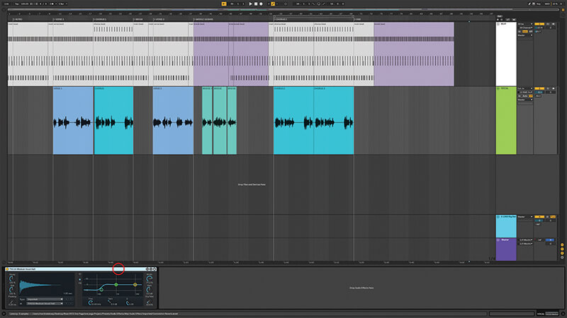 Recording, editing and mixing vocals in Live 10 - Step 5