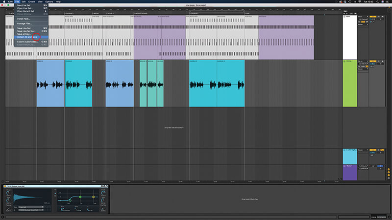 Recording, editing and mixing vocals in Live 10 - Step 6