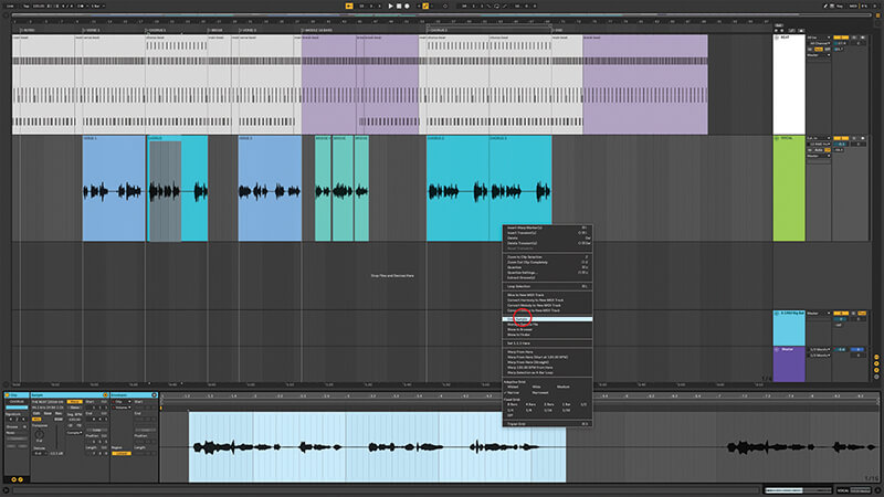 Recording, editing and mixing vocals in Live 10 - Step 7