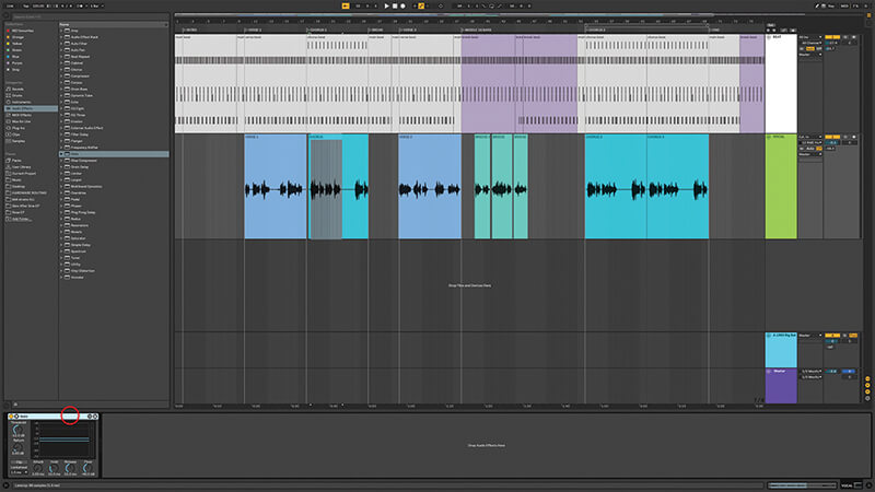 Recording, editing and mixing vocals in Live 10 - Step 8