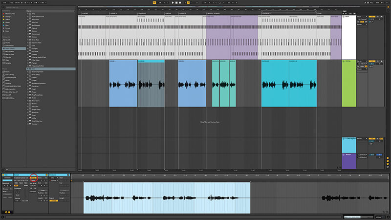 Recording, editing and mixing vocals in Live 10 - Step 9