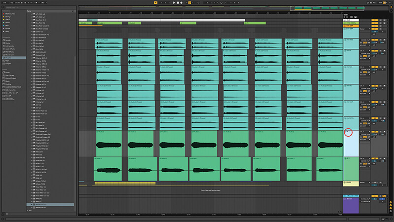 Recording, editing and mixing vocals in Live 10 - Step 14