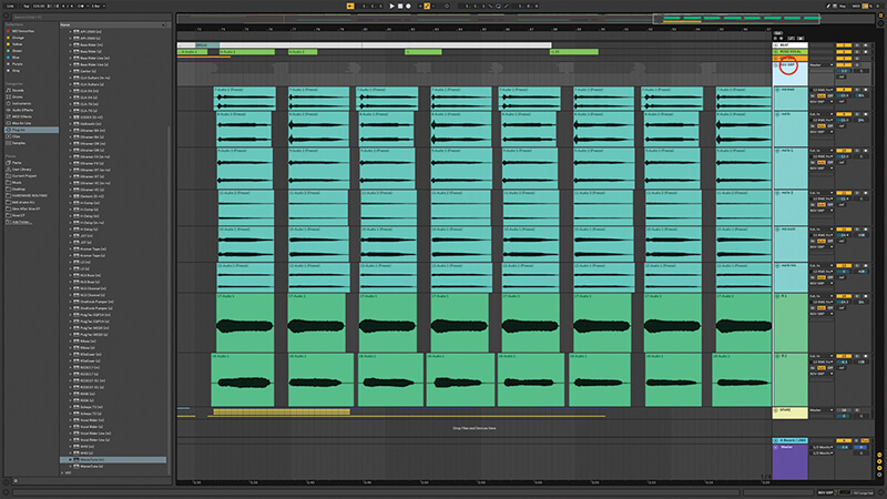 Recording, editing and mixing vocals in Live 10 - Step 15