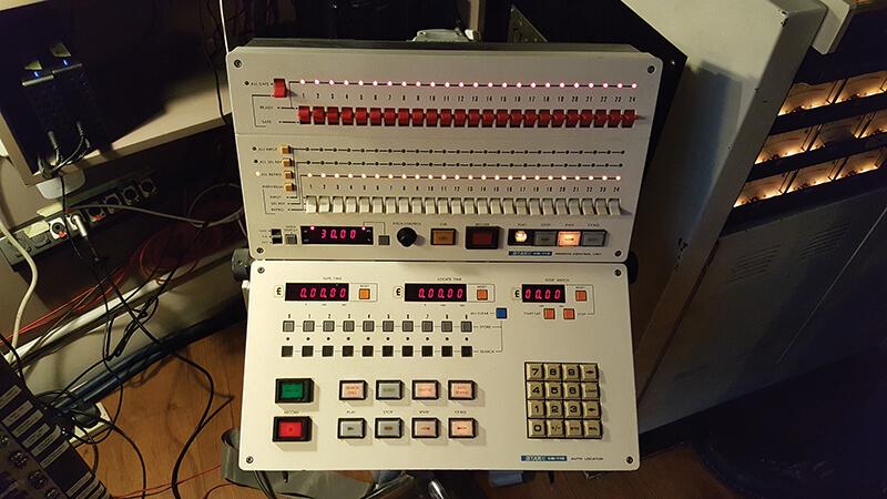Soup Studio - A classic Otari CB-115 Memory Locator