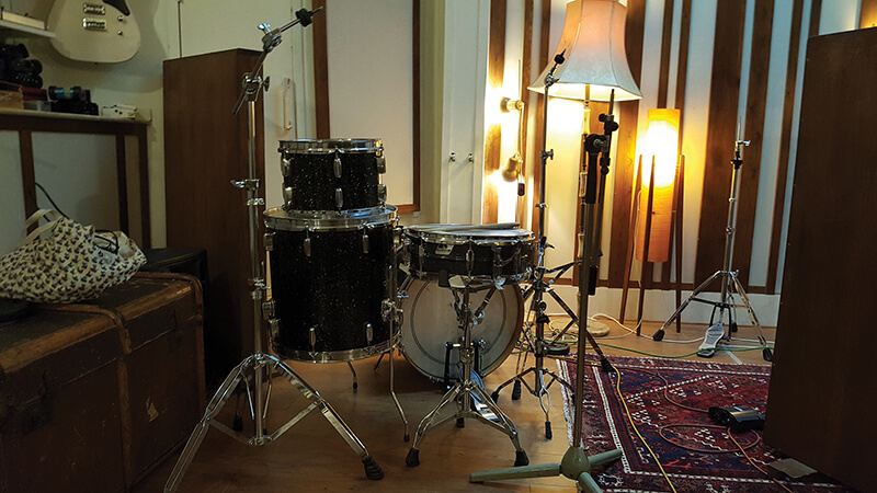 Soup Studio - There's even room for a drum kit!