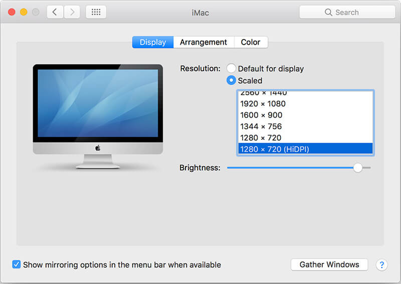 6 reasons your computer is running slow - Reason 6: Display Resolution