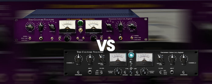 Hardware vs Software: Thermionic Culture Vulture vs Universal Audio Culture Vulture - Featured Image