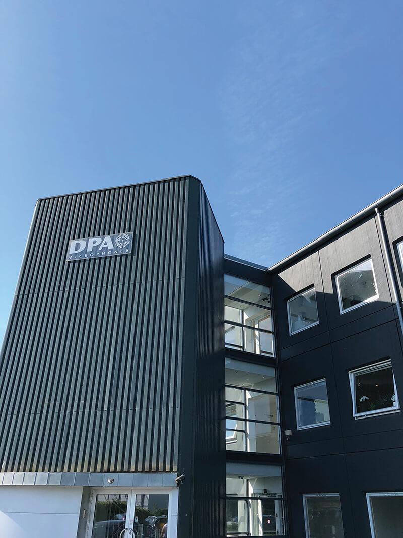DPA Microphones' headquarters in Copenhagen