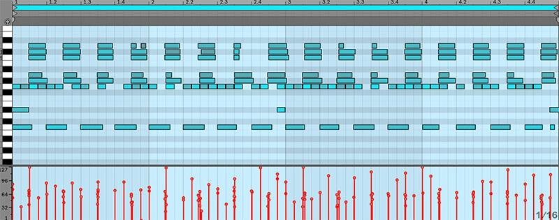 Separating MIDI drum tracks - Arrangement view