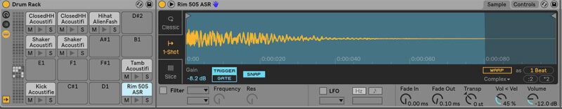 Separating MIDI drum tracks - Step 1