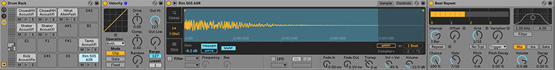 Separating MIDI drum tracks - Step 2