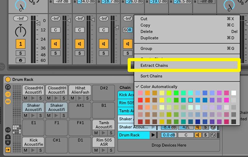 Separating MIDI drum tracks - Step 3