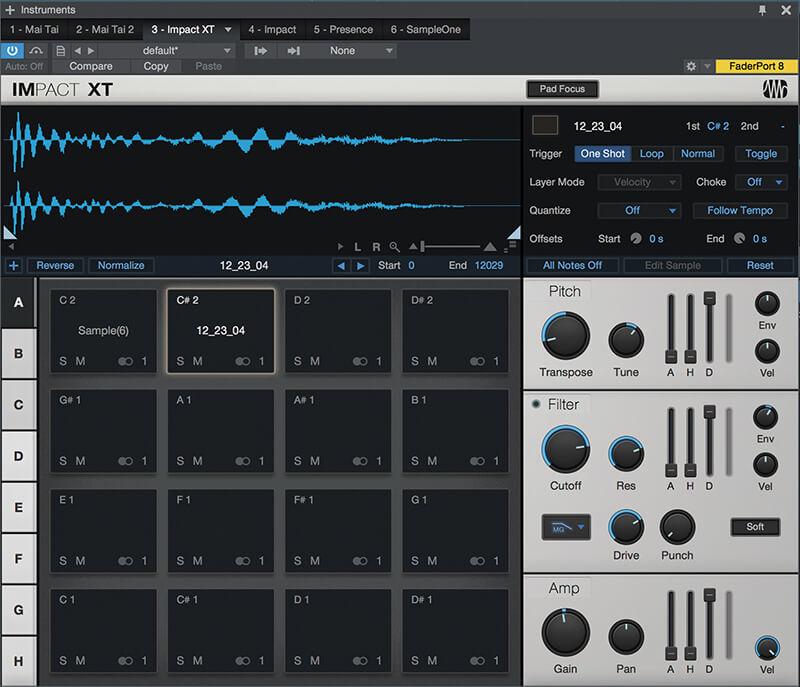 PreSonus Studio One 4 - Impact XT