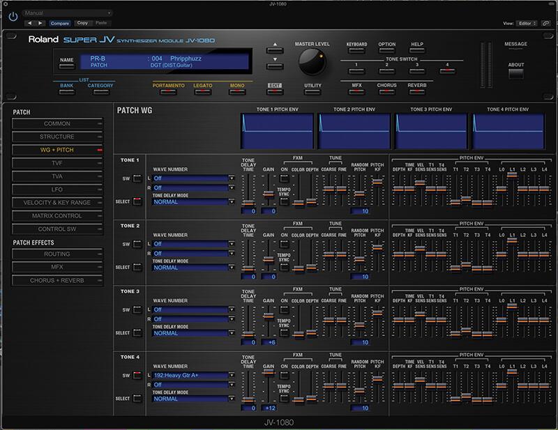 Roland Cloud - JV-1080