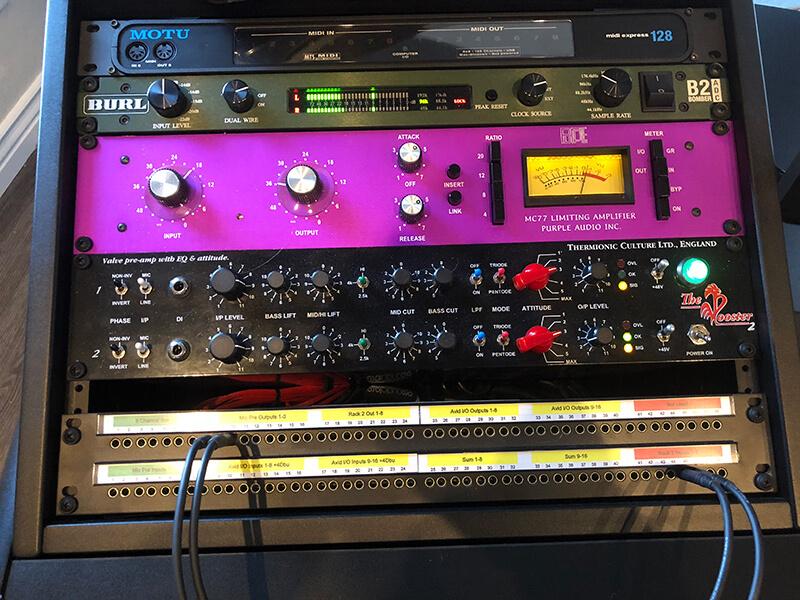 Jeremy Wilson - Studio Rack Gear
