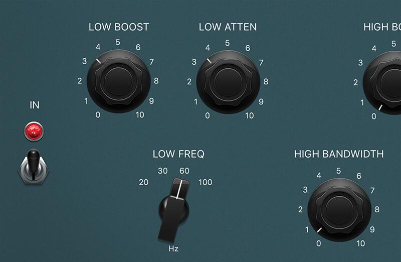 Vintage EQ Plug-ins in Logic Pro X - Step 13