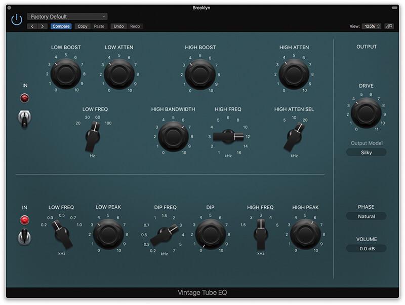 Vintage EQ Plug-ins in Logic Pro X - Step 18