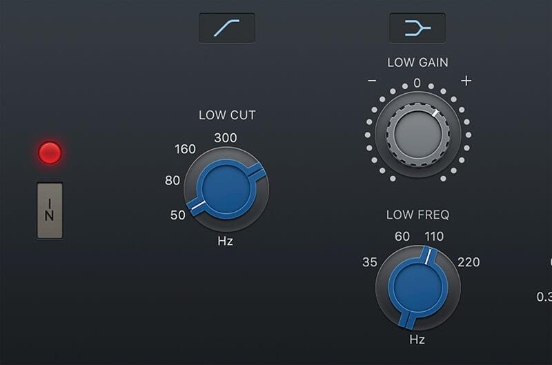 Vintage EQ Plug-ins in Logic Pro X - Step 3