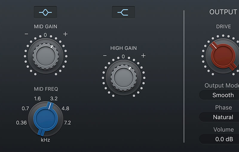 Vintage EQ Plug-ins in Logic Pro X - Step 5
