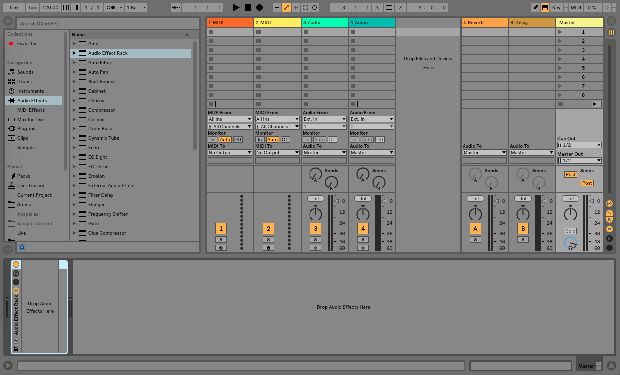 Creative Parallel Processing in Ableton Live - Step 2