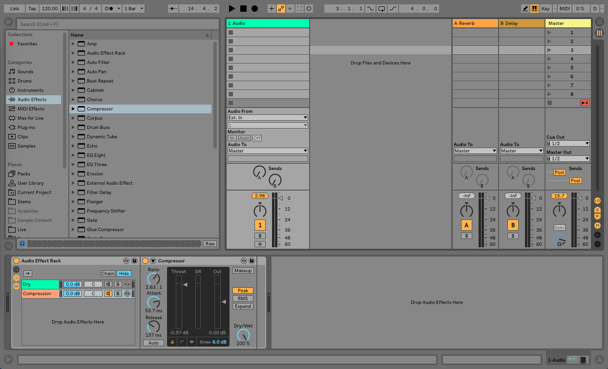 Creative Parallel Processing in Ableton Live - Step 3