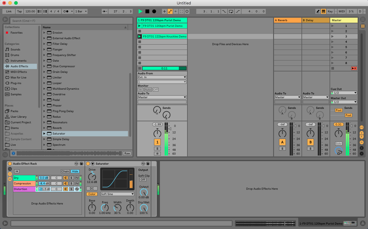 Creative Parallel Processing in Ableton Live - Step 7