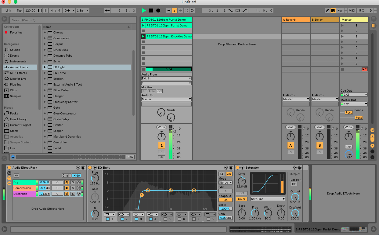 Creative Parallel Processing in Ableton Live - Step 8