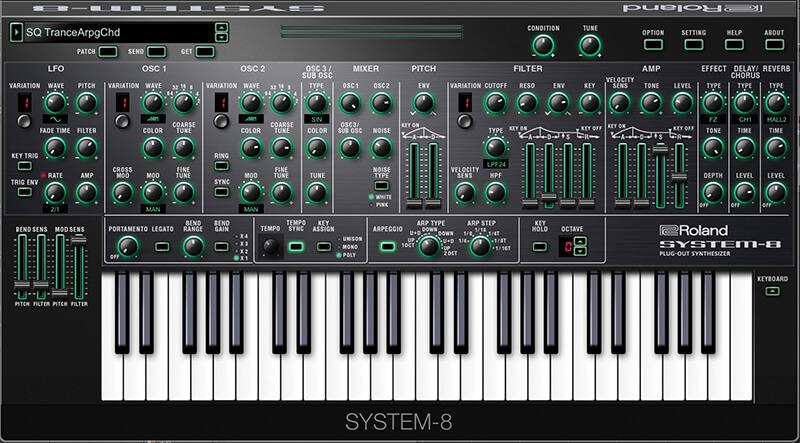Roland Cloud - System-8