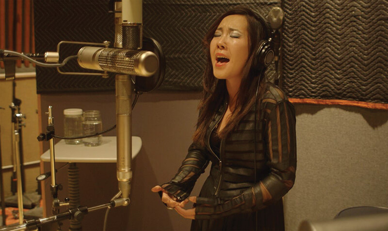 Voices of the Empire - Uyanga Bold recording vocals