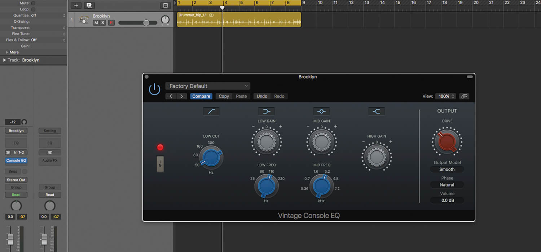 Vintage EQ plug-ins in Logic Pro X - MusicTech