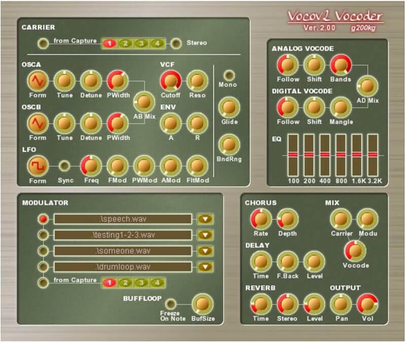 8 Freeware Vocal Plug-ins - Vocov