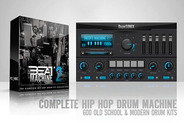 Top 5 Plugins for Hip Hop and Trap - Beat Machine 2