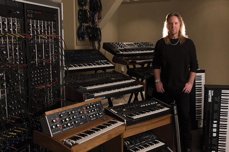 Erik Norlander Interview - In the studio with the Syntronik armory