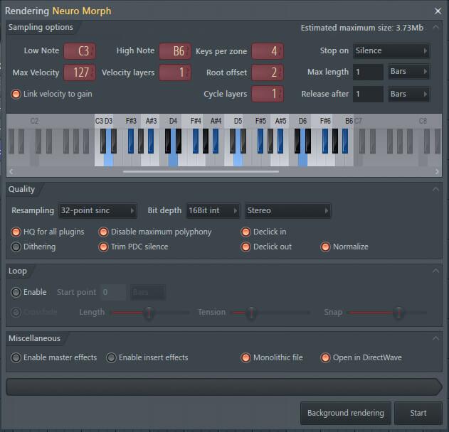 8 CPU Tweaks to Enhance FL Studio 20 - Tip 6. DW Rendering
