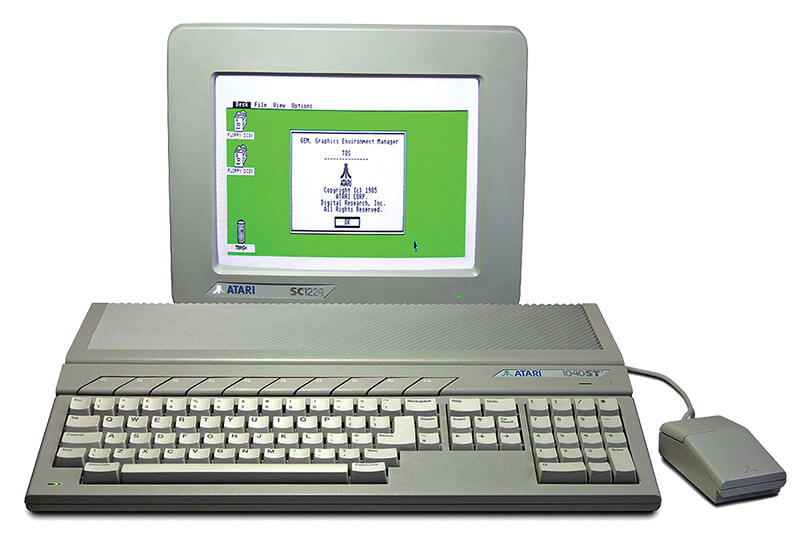 Atari ST Computer - Atari 1040 ST