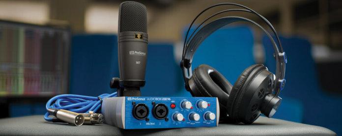 Presonus AudioBox 96 Studio - Featured Image