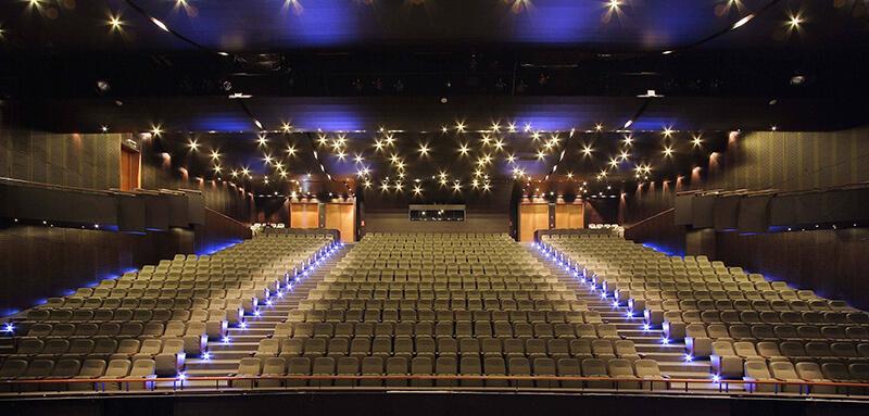 Studio Interviews: Carabineros de Chile Theatre - The Main Auditorium