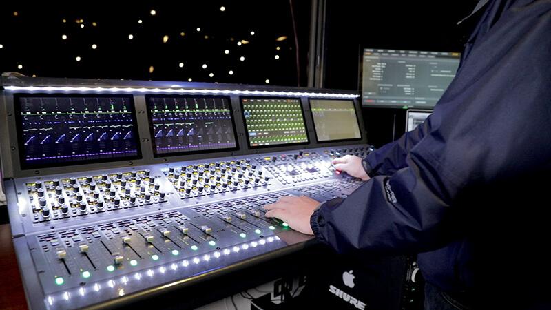 Studio Interviews: Carabineros de Chile Theatre - Avid S6L-32D