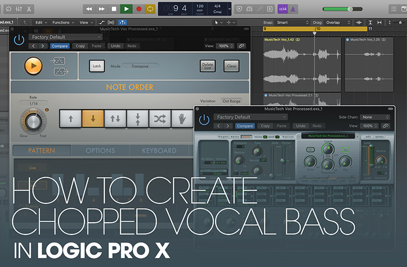 How To Create Chopped Vocal Bass