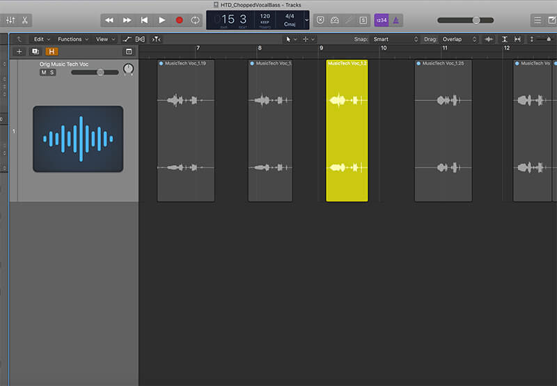 How To Create Chopped Vocal Bass - Step 1