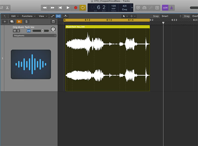 How To Create Chopped Vocal Bass - Step 4