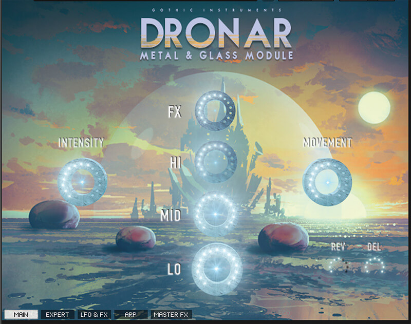 Top 5 Software Instruments for Sound Design - Gothic Instruments DRONAR