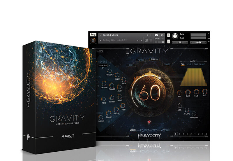 Top 5 Software Instruments for Sound Design - Heavyocity Gravity