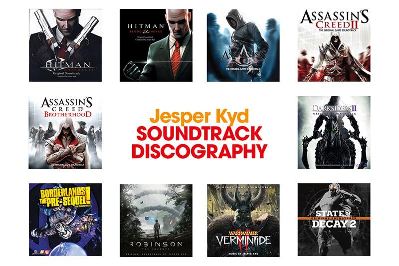 Jesper Kyd Soundtrack Discography