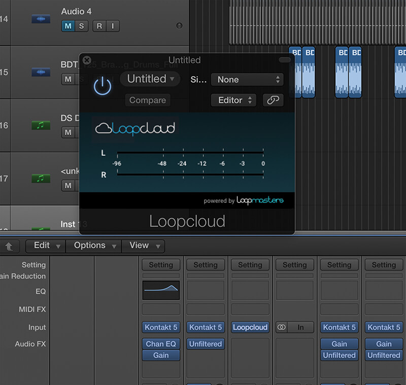 Make Music Online - Loopcloud Step 1